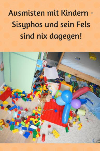 Ausmisten  und Aufräumen mit Kindern: Ein Ding der Unmöglichkeit? Wie gelingt es, Ordnung im Kinderzimmer zu halten?