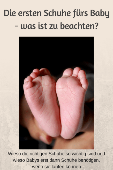 Das muss beim Kauf der ersten Schuhe fürs Baby oder Kleinkind beachtet werden - Tipps zum Schuhkauf, Ausmessen der richtigen Größe