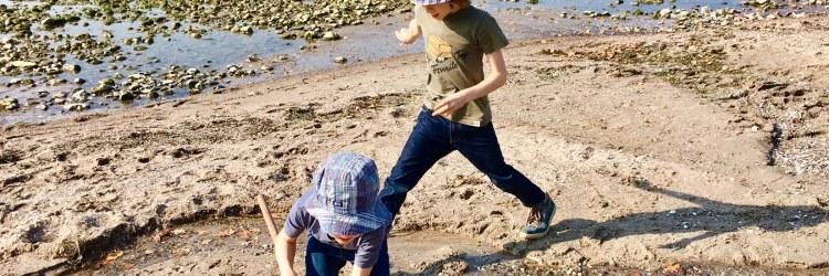 Toben ohne Termindruck, freies Spielen und gemeinsame Familienzeit sind gut für die Gesundheit - werbung
