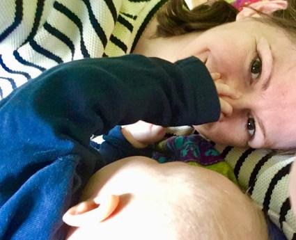 Das Feierabend Dilemma; Lieber Ausgeschlafen sein und mit den Kindern ins Bett oder zwei STunden Feierabend genießen