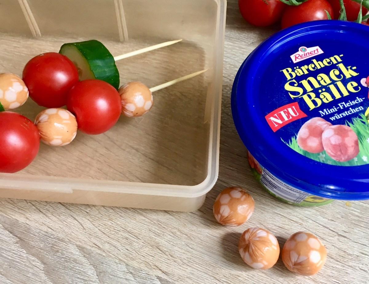 Alternative für die Brotbox: Snack-Bälle - Fleischwürstchen von Bärchen