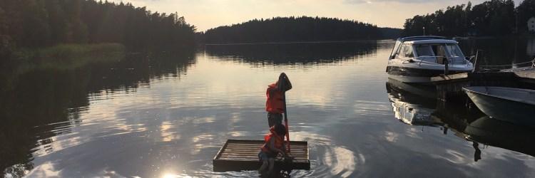 Schärengarten vor Turku - Urlaub mit Kindern