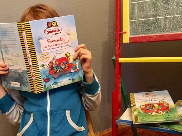 Neue Bücher nach der figurenwelt von Janosch vom Tiger und Bär - Buchtipp zum Vorlesen und SElberlesen