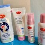 Werbung Mit Naturkosmetik von Töpfer dehnungsstreifen vorbeugen und Babyhaut pflegen