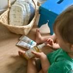 Wickeln mit lillydoo Produkten und wieso man keinen Wickeltisch braucht