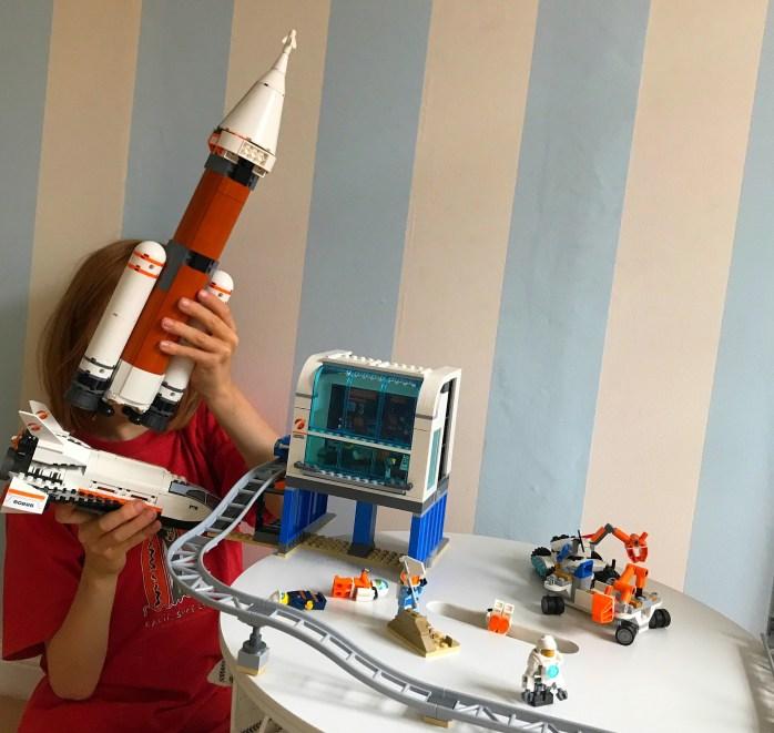 Werbung - Spielzeug Tipp neue Lego Rakete und Spaceshuttle