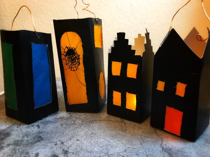 Laternen aus Tetrapacks basteln - einfaches Dix und upcycling - auch für den Advent