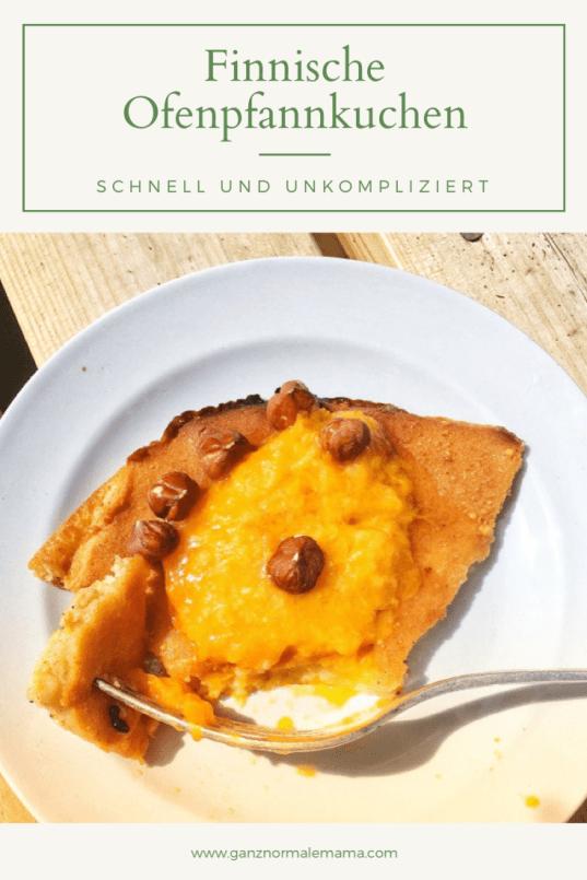 Rezept für finnische Ofenpfannkuchen: Pfannkuchen aus dem Ofen sind schnell zu backen und schmecken mit Marmelade oder frischen beeren