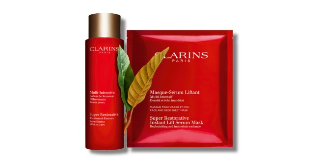 Clarins Lotion de Jeunesse & Masque-Sérum Liftant
