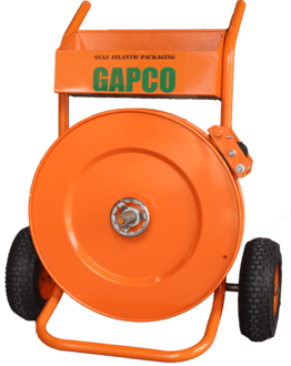 Strapping Dispenser by Gapco for steel and polyester strapping - T-200