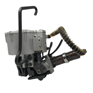 Pneumatic Steel Strapping Tool by BandingGuns. The PN-S 1947 offers simple two-button operation and lightweight design to increase operator efficiency.