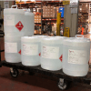 5 gallon pail of liquid hand sanitizer
