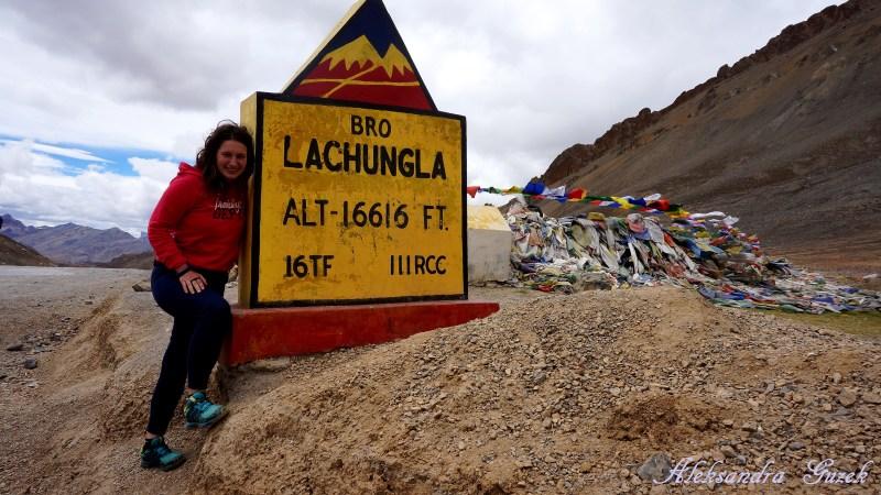 Na przełęczy Lachung La