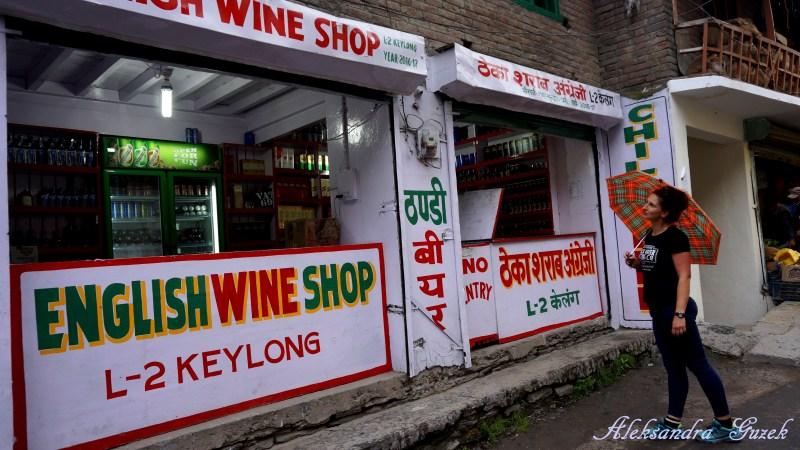 Keylong jest dobrym miejscem na aklimatyzacje. To jaki trunek wybierzemy ?? :-)
