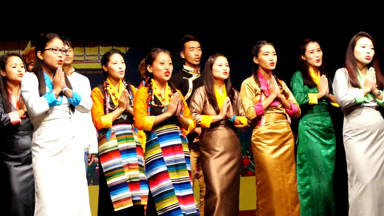Tybetański pokaz kulturowy
