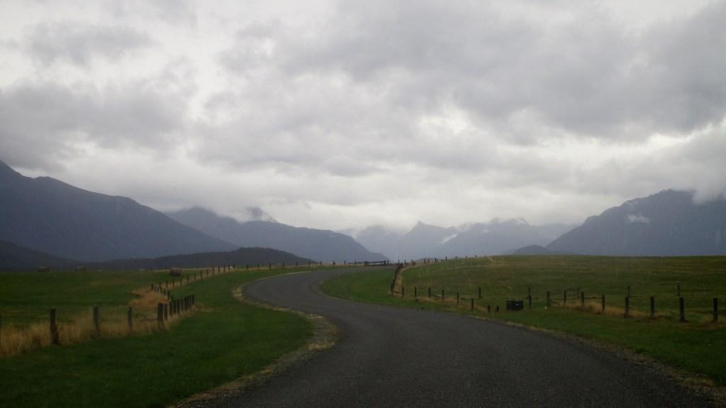 Ciężko jest trafić na słoneczną pogodę w Fiordlandzie