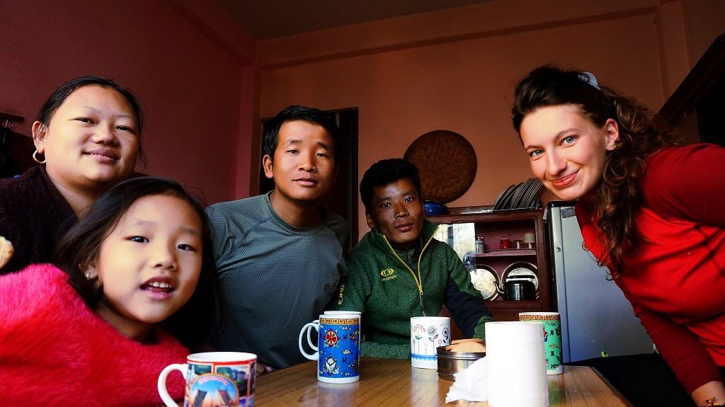 Typowa rodzina Nepalska
