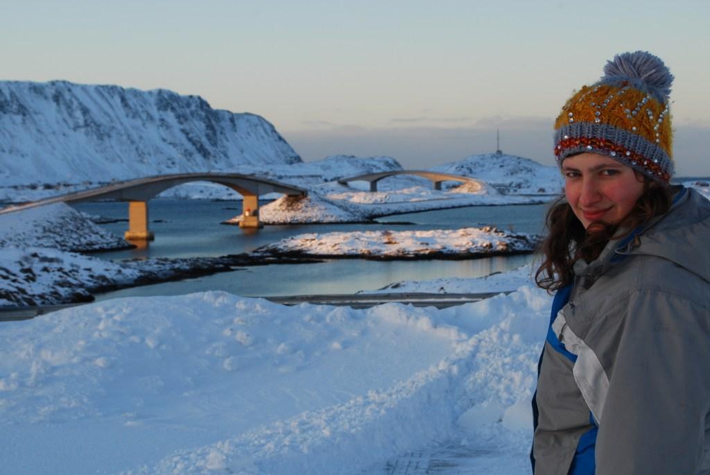 Mosty łączące wysepki i ja kilka lat temu :), fot. Marcin Łapiński