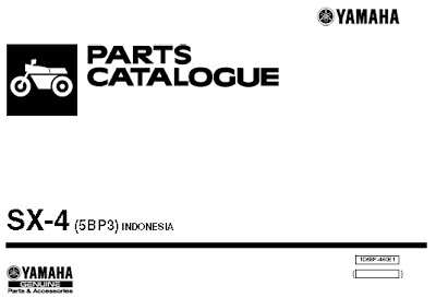 Catalog Spare Part Yamaha Scorpio