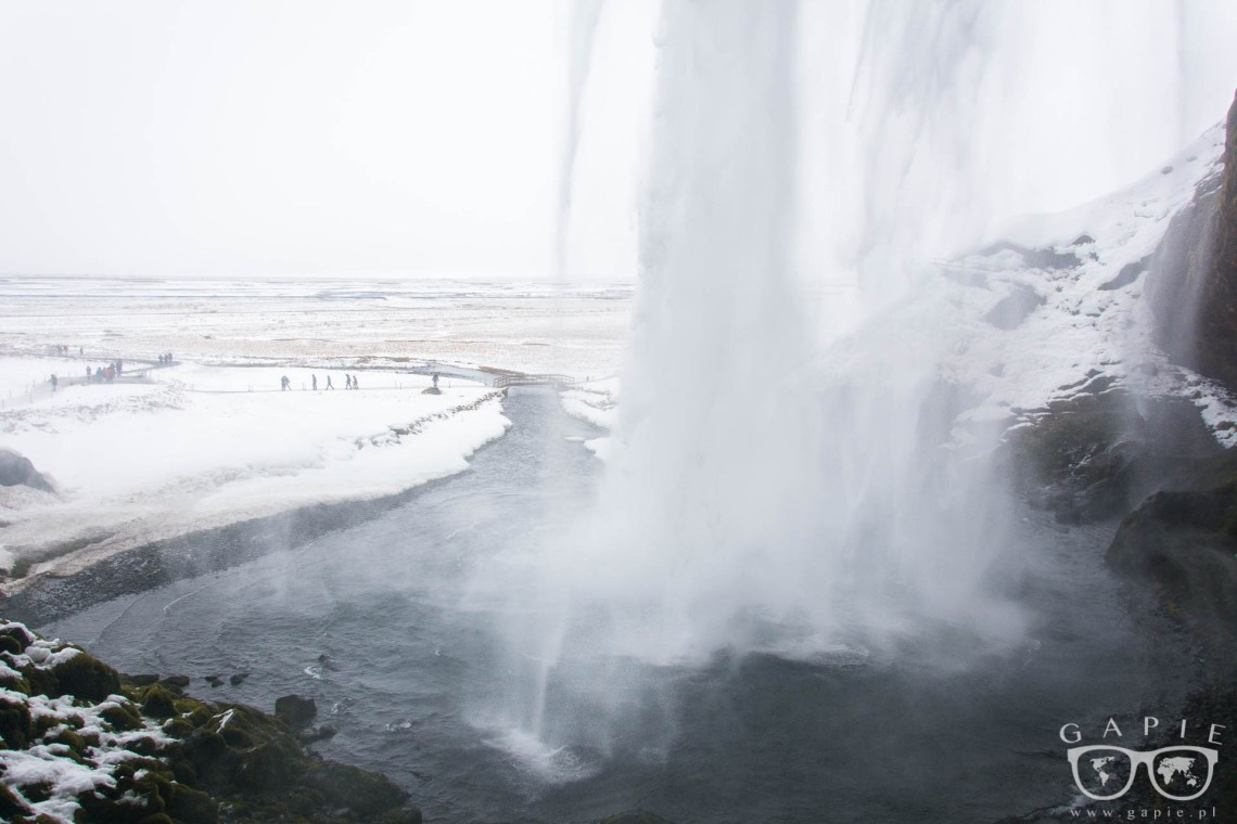 Seljalandsfoss winter