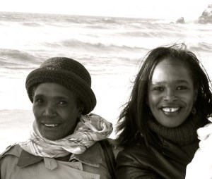 Image of my mom and me - Remembering my mother on mothers day