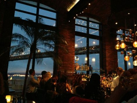 Bold, Seductive and Fierce...in Animal Print - Amazing View of the Bridge from the Restaurant
