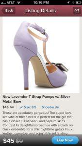 Image of a Shoedazzle Covershot on Poshmark Fashion App