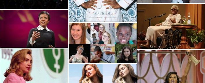 Collage of women who have inspired gapmuse in the last 4 years.