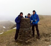 Helvellyn - Trig Point