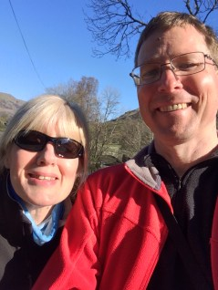 Setting off in the Sunshine