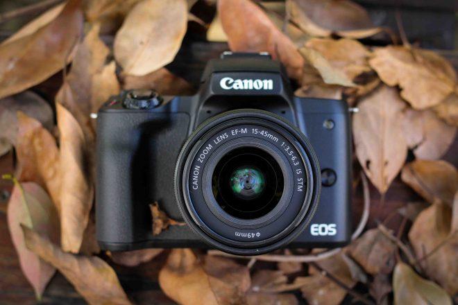 canon m50類單眼相機