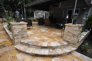 Travertine Pavers and Veneer Suppliers on Long Island