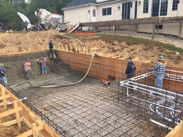 Long Island Gunite Swimming pool company, from designing to building Gappsi pool can provide all types of pool construction and services.