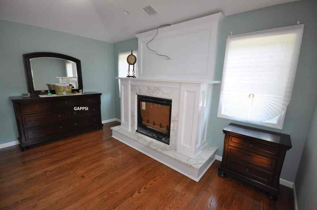 custom wood work for indoor fireplace contractor ny