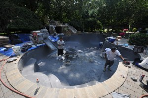 marble dust pool cost gunite pool marble dust colors Gappsi