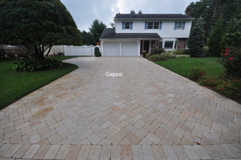 granite driveway picture design in smithtown ny-Gappsi