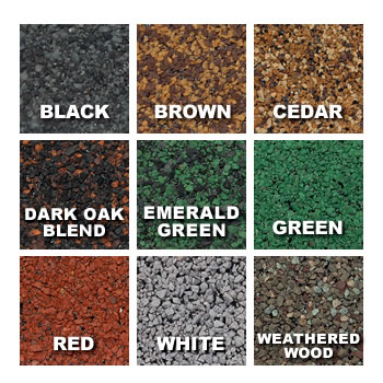 Color Options for GAP Roofing Roll Roofing Products