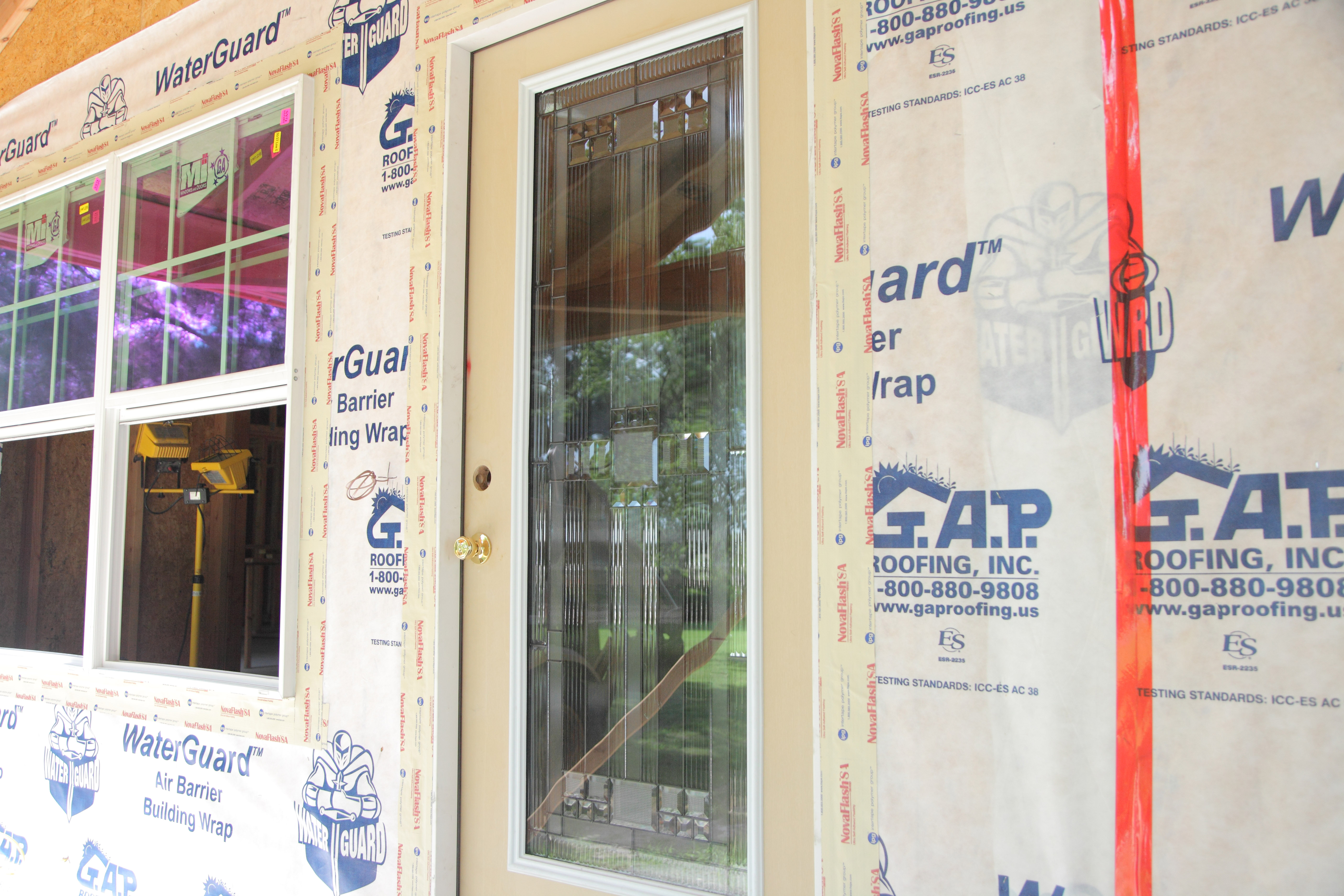GAP WaterGuard Sheathing Tape - G A P  Roofing