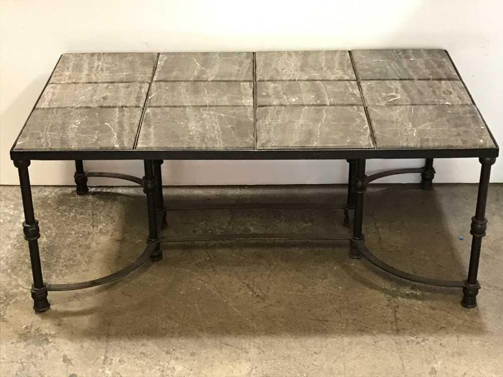 faux marble tile top patio table ga