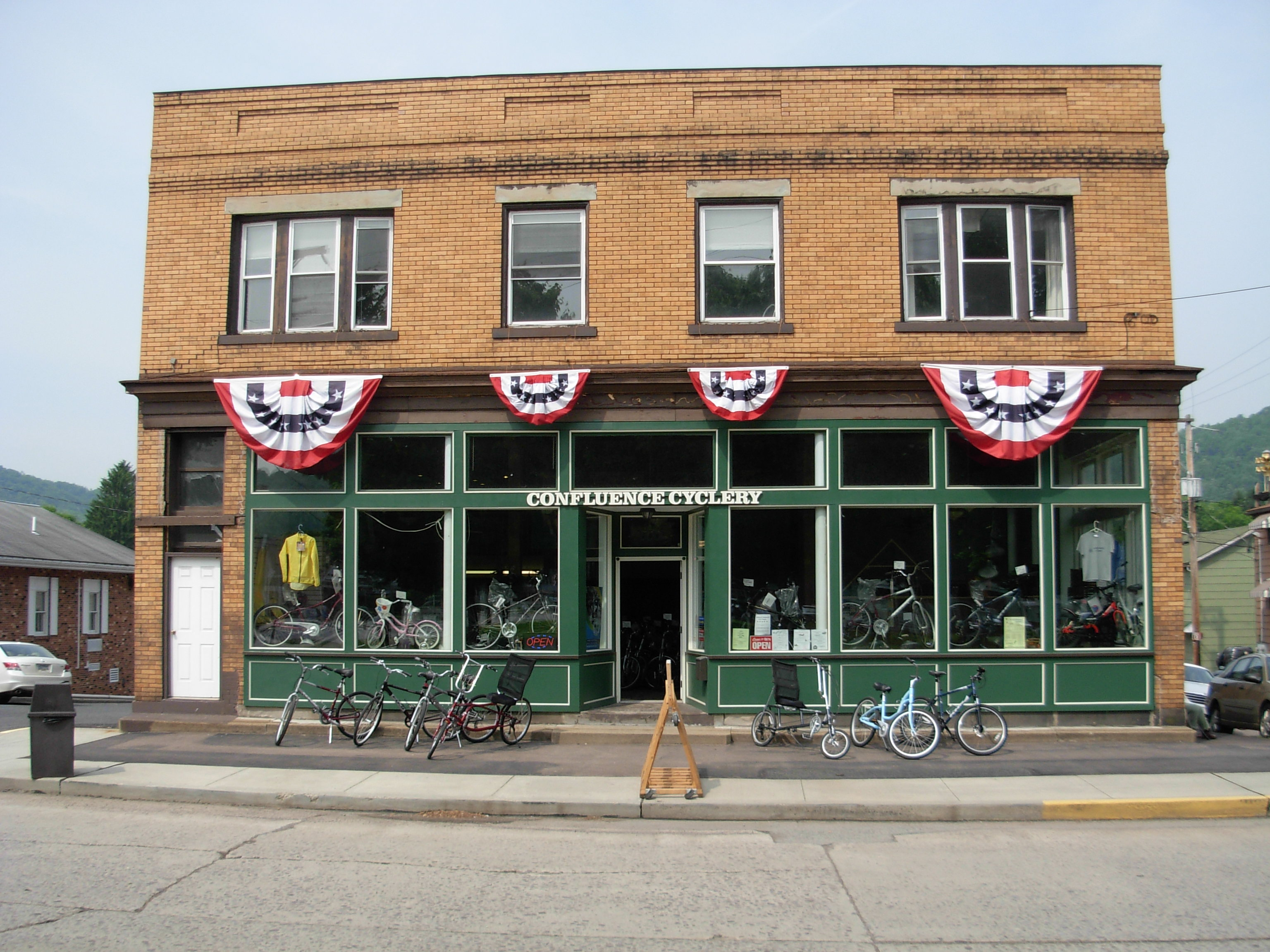 Confluence Cyclery Storefront