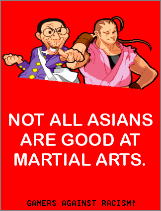 Gamers Against Racism!