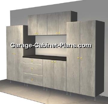 10 ft garage cabinet plans