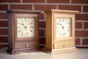 Shaker clock plans from Teds Woodworking