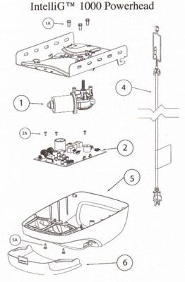 Garage Door Opener Parts IntelliG Amp Odyssey Repair Parts