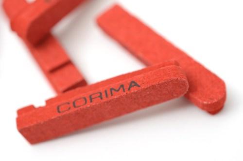 Aero プラス MCC ロ-ド F用に「コリマ(CORIMA)アブソリュート・ブレ-キパッド」装着