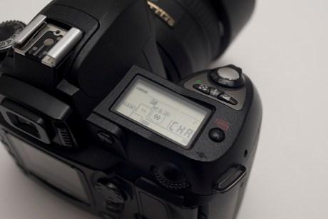 Nikon(ニコン)D70のメモリカードを入れても「CHA」エラーで撮影が出来ないを現象を直す