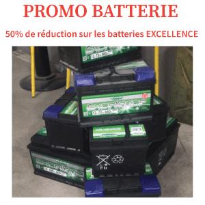 Promo Batterie auto