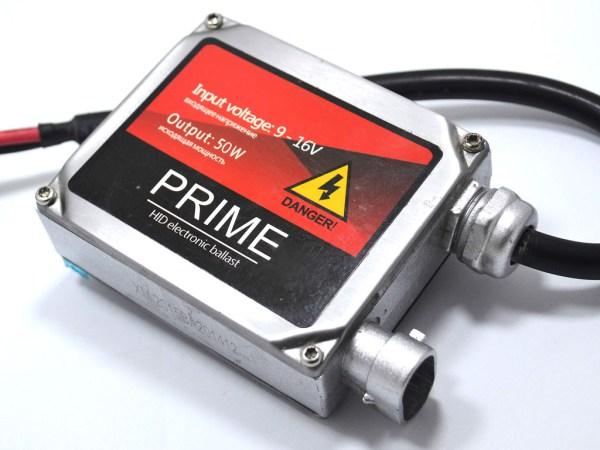 ксенон Prime 9-16-50W, ксеноновый блок 50 ватт, Prime 9-16-50W блок розжига 50 ватт,