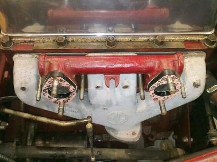 MG TF Carburettors