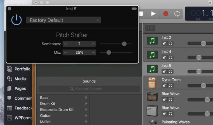 How To Change The Key Signature (Pitch) In Garageband
